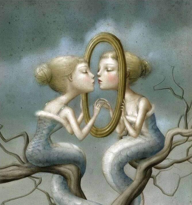 La loi du miroir