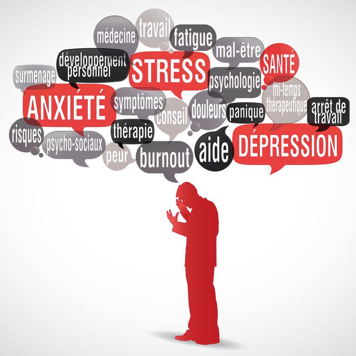 La dépression et l'anxiété